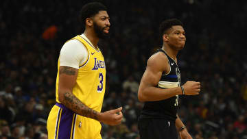 Bucks vs Lakers odds have Anthony Davis and Los Angeles favored at home.