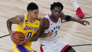 Lakers y Raptors chocan este viernes en la NBA