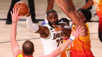 LeBron y sus Lakers podrían tener otra complicada noche de NBA