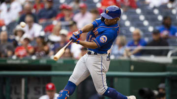 Francisco Lindor and the New York Mets look to make a move in the NL East.   Scott Taetsch-USA TODAY Sports
