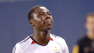 Freddy Adu in action for his first club, DC United