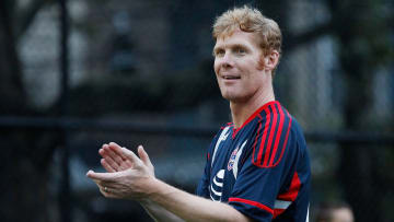 Alexi Lalas during the MLS All-Star Game - Legends Game