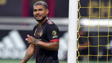 Martinez was withdrawn just before half-time in Atlanta United's 2-1 defeat to CF Montreal.