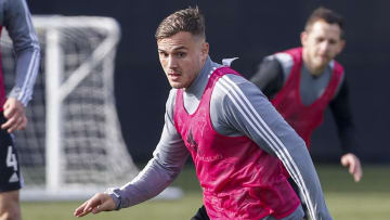 Jordan Morris is working his way back from a second ACL injury in four years.