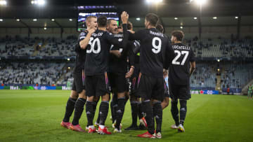 Juventus got their overdue first win of the season