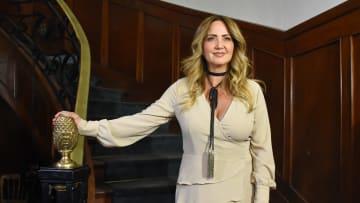 Andrea Legarreta es conductora de Hoy en Televisa