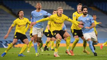 Borussia Dortmund e Manchester City se enfrentam nesta quarta-feira (14), pela Champions League.