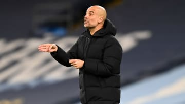 Pep Guardiola praised Man City players for keeping their heads