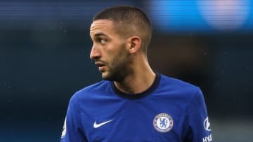 Hakim Ziyech could already be heading for the exit door at Chelsea