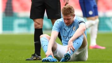 Kevin de Bruyne s'est blessé contre Chelsea à 10 jours du match contre le PSG