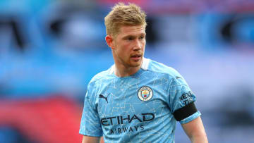Kevin De Bruyne picked up another ankle injury