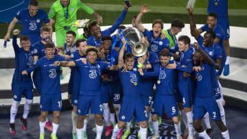 Il Chelsea festeggia la Champions League