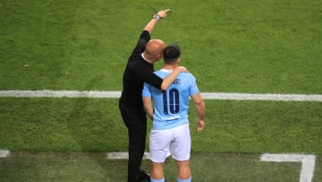 Manchester City v Chelsea FC - UEFA Champions League Final - Aguero in the Champions League final.