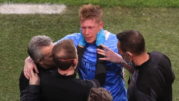 Manchester City v Chelsea FC - UEFA Champions League Final - Kevin de Bruyne, la figura del City, salió lesionado.