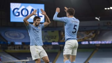 Ruben Dias and John Stones have formed a formidable partnership at Man City