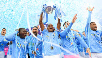 Last year's champions Man City are favourites to repeat