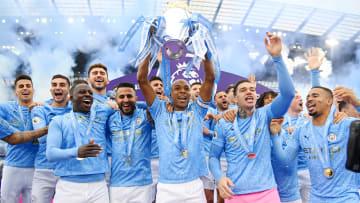 Manchester City are seeking a sixth Premier League crown