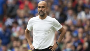 Pep Guardiola will look to retain the Premier League crown