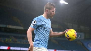 Kevin de Bruyne's current contract runs out in 2023