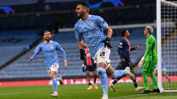 Riyad Mahrez n'a pas caché sa satisfaction après la qualification de Manchester City pour la finale de la C1.