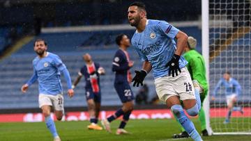 Riyad Mahrez a réalisé une grande saison avec Manchester City.