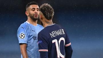 Neymar n'a pas tenu la comparaison avec Riyad Mahrez.