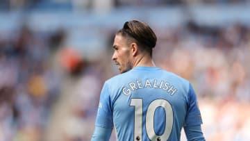 Jack Grealish avec Manchester City cette saison en Premier League