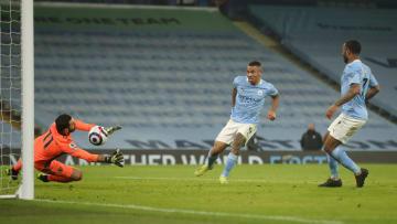 Gabriel Jesus scored the winner for City