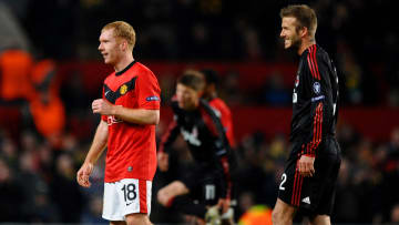 Paul Scholes and Davis Beckham were on opposite sides the last time Manchester United faced AC Milan competitively