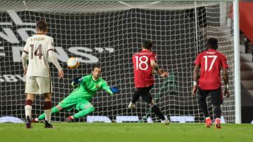 Bruno Fernandes'in penaltı vuruşu