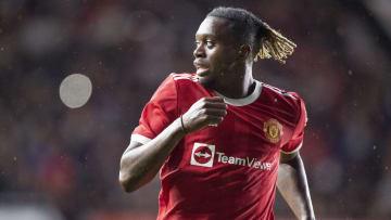 Aaron Wan-Bissaka is carrying a pre-season injury