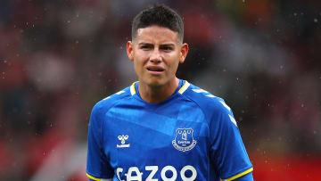James at Everton
