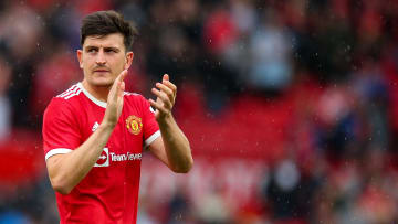 Harry Maguire in action