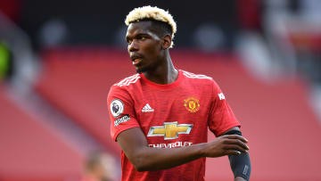 Paul Pogba has linked up with his Man Utd teammates in Scotland
