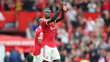 Paul Pogba is out of contract at Man Utd in 2022