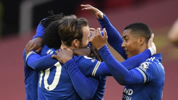 The victory puts Leicester within touching distance of Champions League football