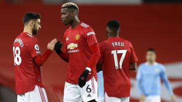 Bruno Fernandes et Paul Pogba n'ont pu pleinement s'exprimer face à Manchester City.