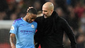 Raheem Sterling, Pep Guardiola