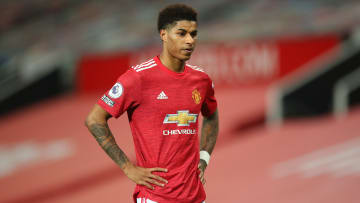 Marcus Rashford is available for Manchester United