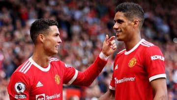 Cristiano Ronaldo & Raphael Varane