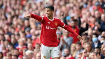 Cristiano marcou dois em sua reestreia pelo United