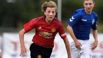 Charlie Savage has turned pro at Manchester United