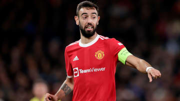 Bruno Fernandes missed a penalty in the loss to Aston Villa