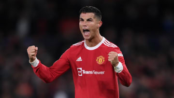 Cristiano Ronaldo avec Manchester United cette saison en Ligue des Champions