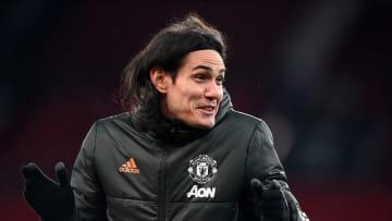 À la pointe de l'attaque de Manchester United, Edinson Cavani est souvent préféré à Anthony Martial