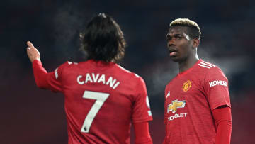 Paul Pogba, Edinson Cavani