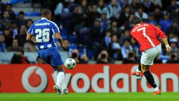 Cristiano Ronaldo scored a worldie against Porto in 2009