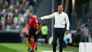 Massimiliano Allegri takes charge of Juventus for the first time since 2019