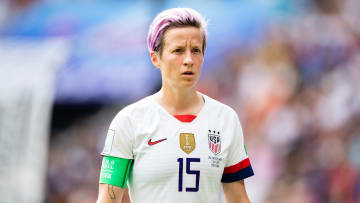 Megan Rapinoe of USA women's national team during the 2019 World Cup