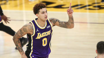 Kyle Kuzma, Memphis Grizzlies v Los Angeles Lakers